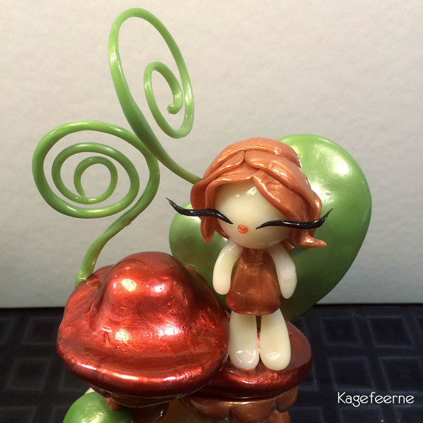 Molly isomalt figur fra IsoMolly figurkursus
