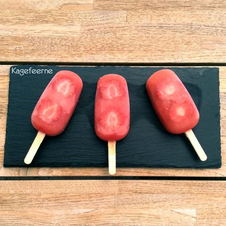 3 Vandmelon ispinde på skifferplade