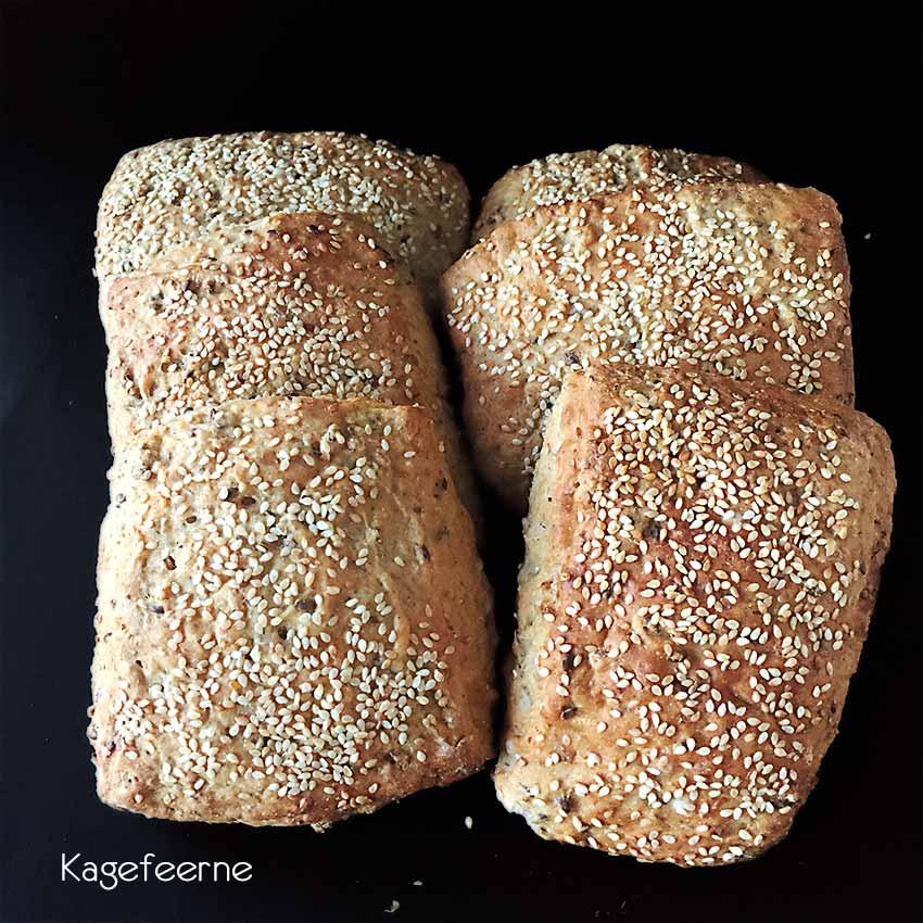Fuldkorns Sandwichboller - Soft Buns