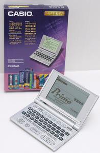 韓国語電子辞書EW-K3000購入