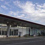 羽田空港国際線ターミナルにて