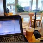 仁川空港でお仕事中。
