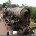 臨津閣のマト2形蒸気機関車