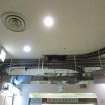 某総合病院の天井軌道