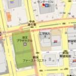 新宿西口にて