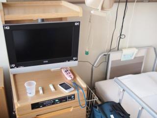 入院しました。