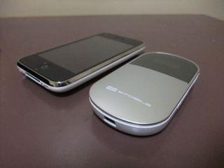 iPhone3GS+Emobile PocketWifi