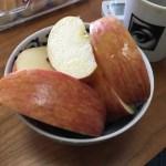 朝のリンゴは金