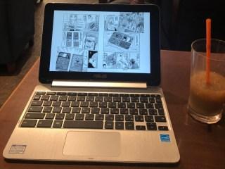 Chromebookで原稿作成