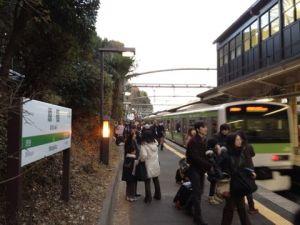 原宿駅臨時ホーム
