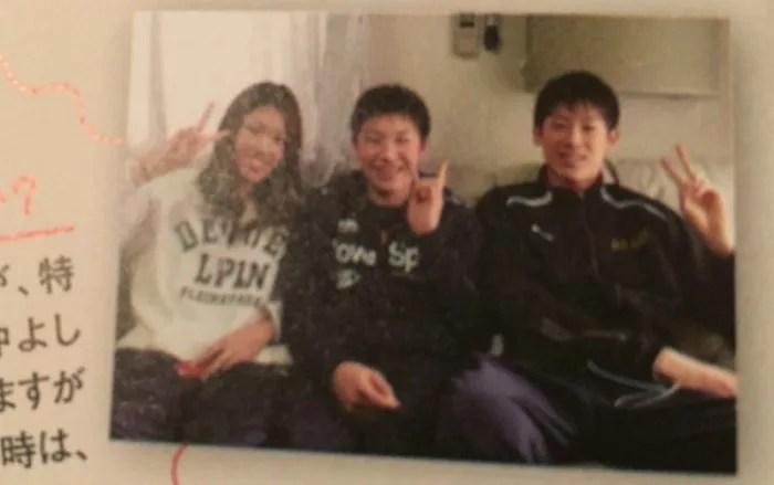 石川祐希の『家族』~妹の高校や今後の進路、身長は?姉妹との3ショット写真 | 蜉蝣のカゾク