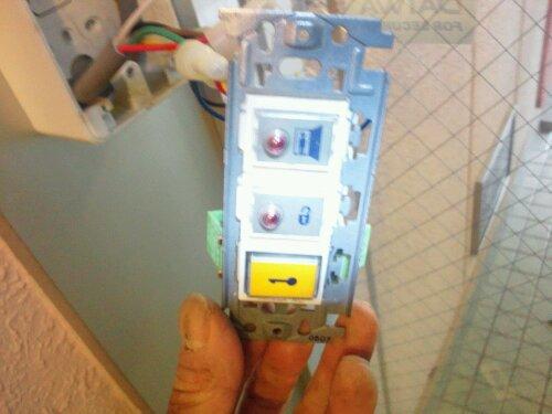 たつの市でマンションエントランスの電気錠の点検修理 20120412