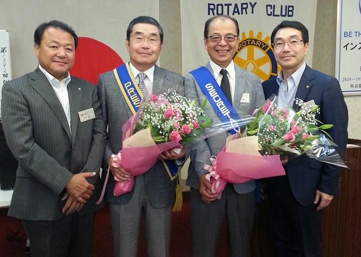 小林会長/富田幹事 年度が終了