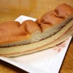 久喜市菖蒲モラージュ菖蒲2階「わくわく広場」の新井製パン工場のパンと芝山内田屋のだんご