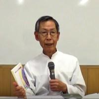 第24回夏期集中講座第1日目の竹山神父