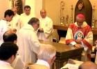 祭壇への塗油