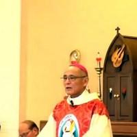 郡山司教説教