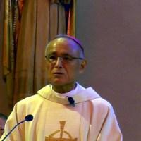 ヴィアンネ助祭の司祭叙階式における郡山司教の説教