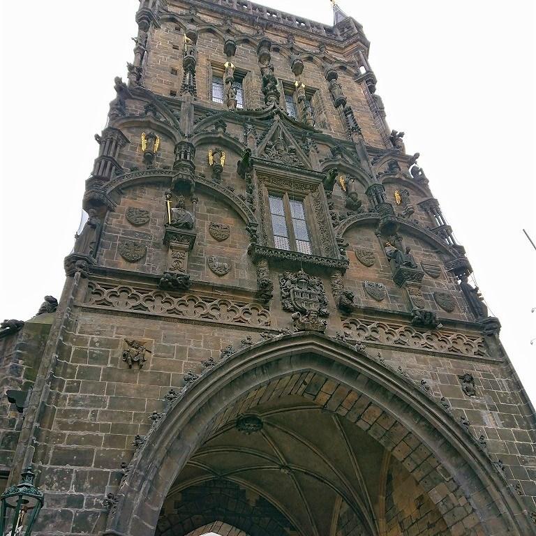 プラハ 火薬塔