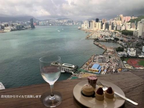 ルネッサンス香港 ハーバービュー ラウンジ