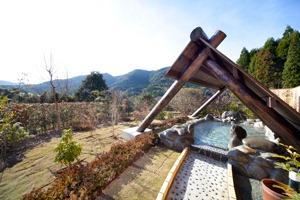 冠嶽温泉の露天風呂