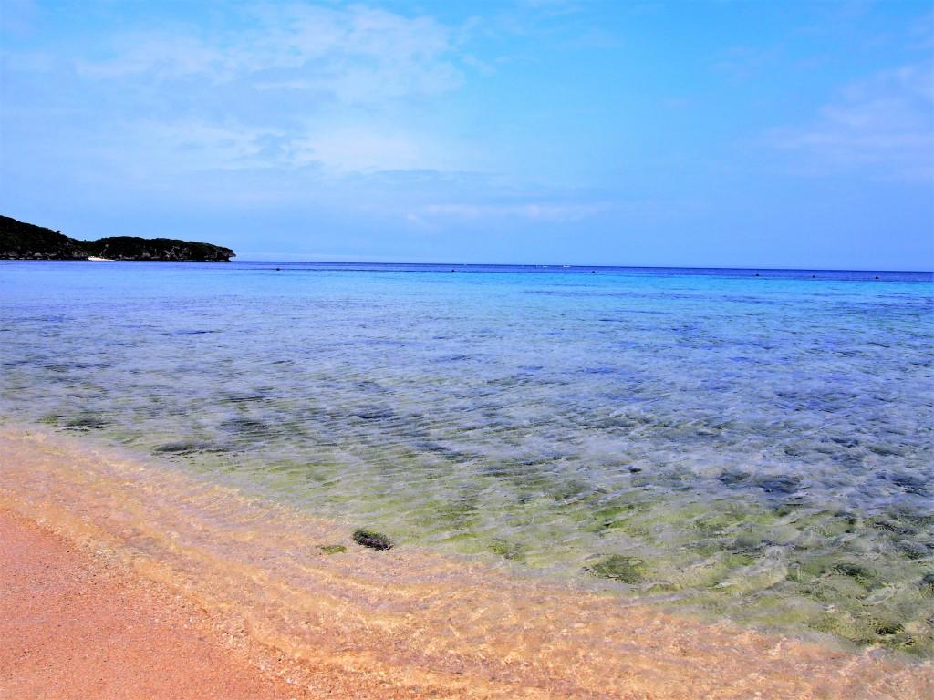 沖永良部島のワンジョビーチ