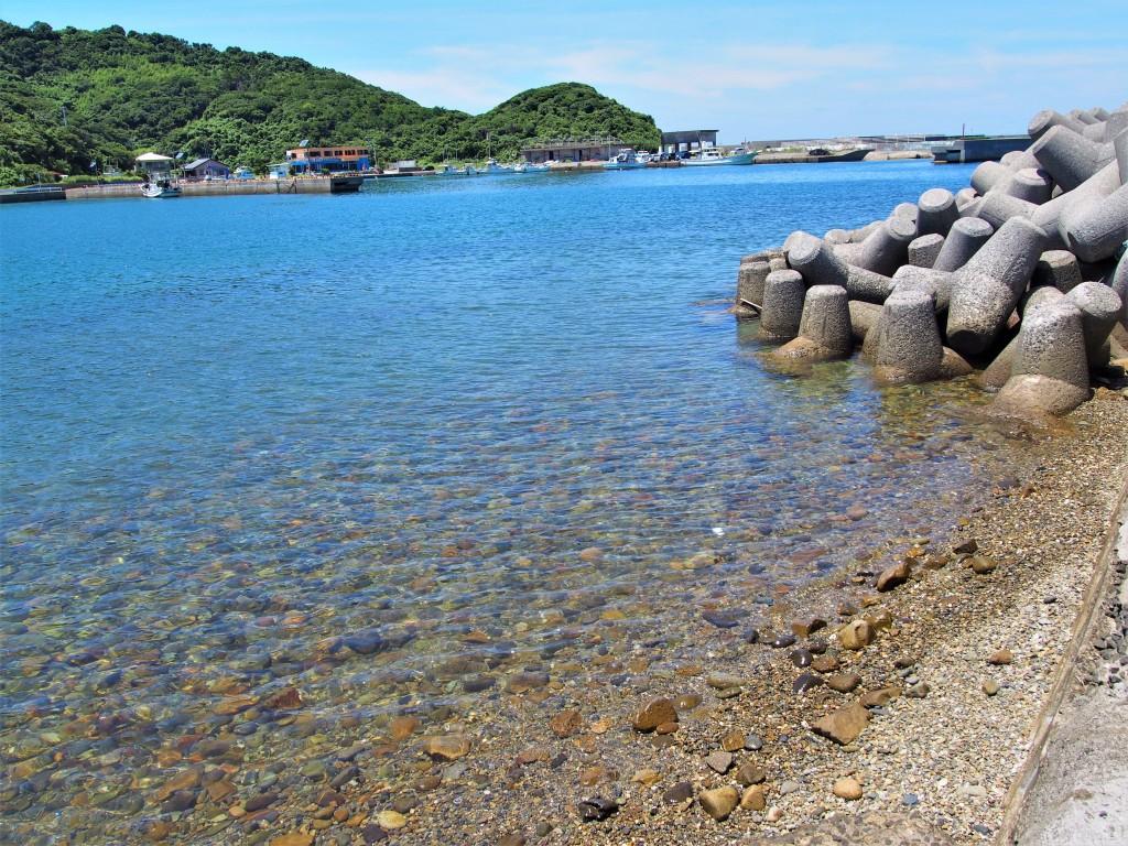 笠沙恵比寿の海