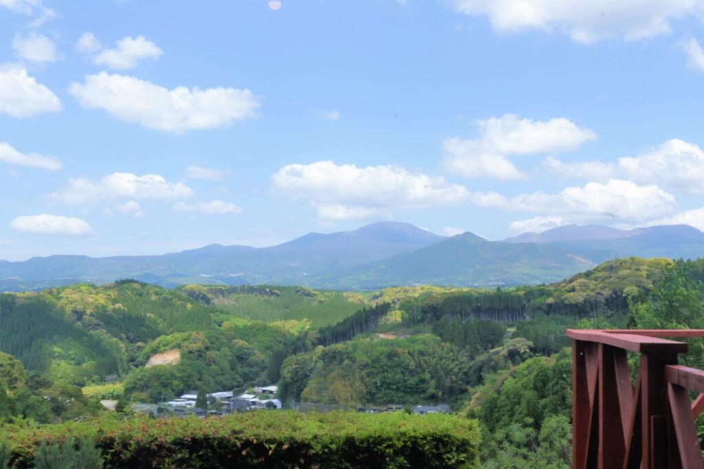 霧島峠茶屋の眺め
