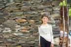 ウシュグリ村の側の集落の子。将来美人決定。