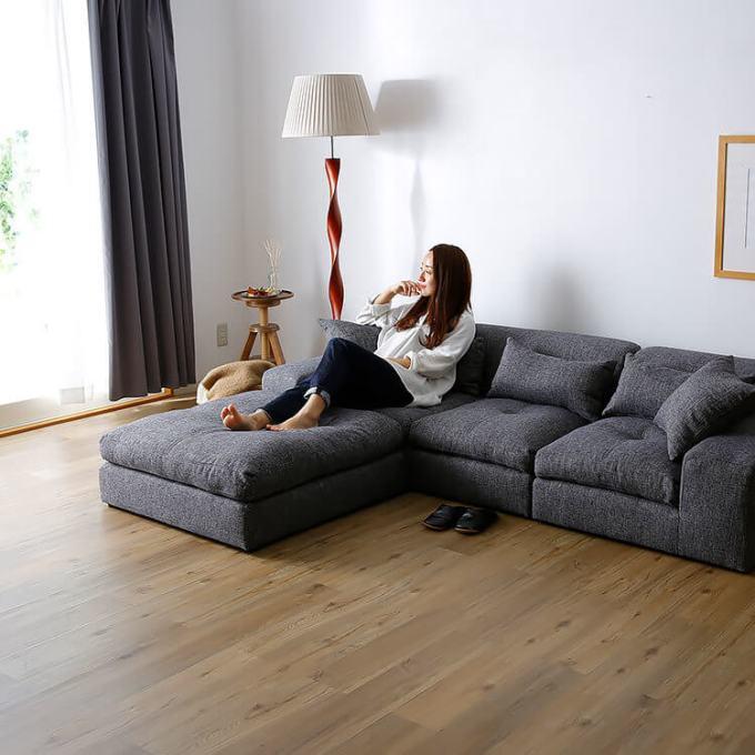 リラックスできるソファ