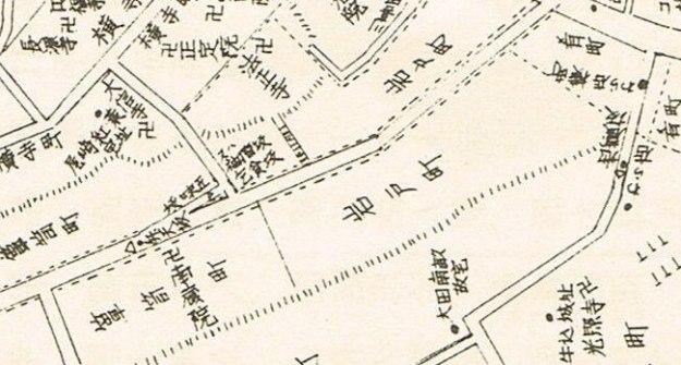 明治20年の地図