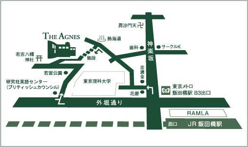 アグネスの地図