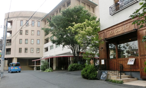 アグネスホテルの外観