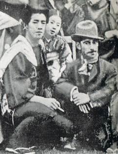 水谷八重子 芸術座の園遊会