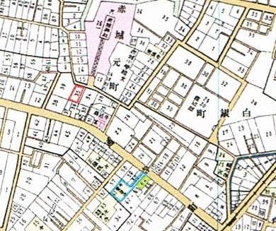 大正11年東京市牛込区