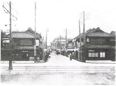 神楽坂昭和初期