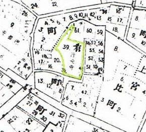 明治28年、東京実測図
