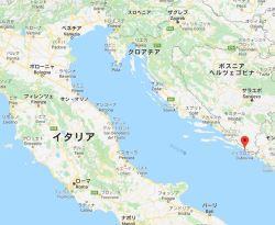クロアチアのドゥブロブニク