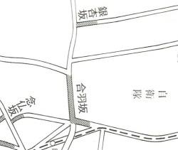石川悌二氏の『東京の坂道-生きている江戸の歴史』で合羽坂