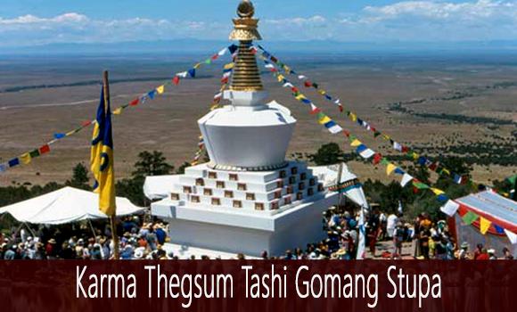 Stupa in Crestone Colorado