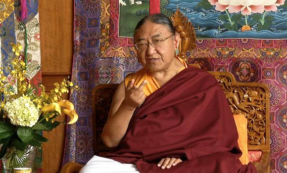 His Holiness Kyabgon Gongma Trichen Rinpoche (the 41st Sakya