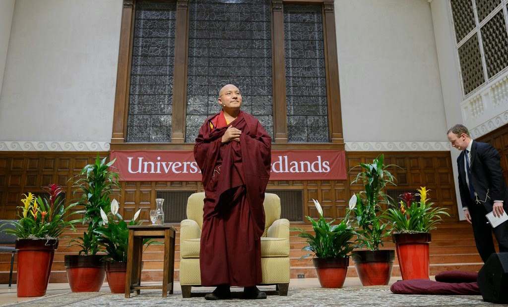 Doctorate Awarded to the 17th Gyalwang Karmapa