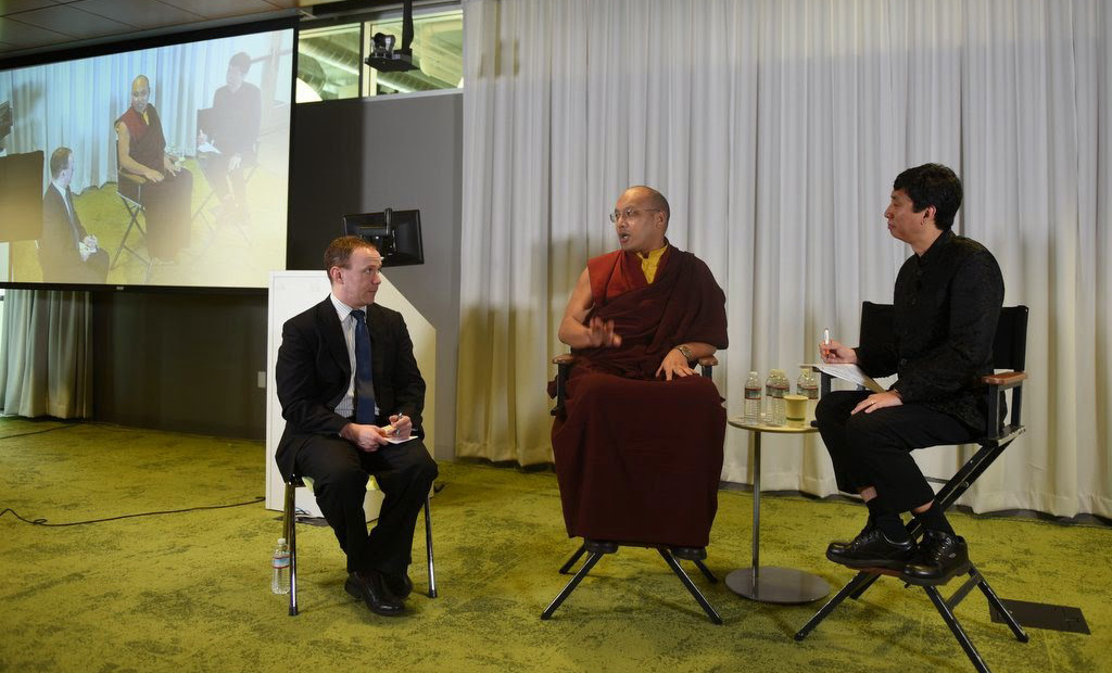 Karmapa Gives Talk to Google Employees