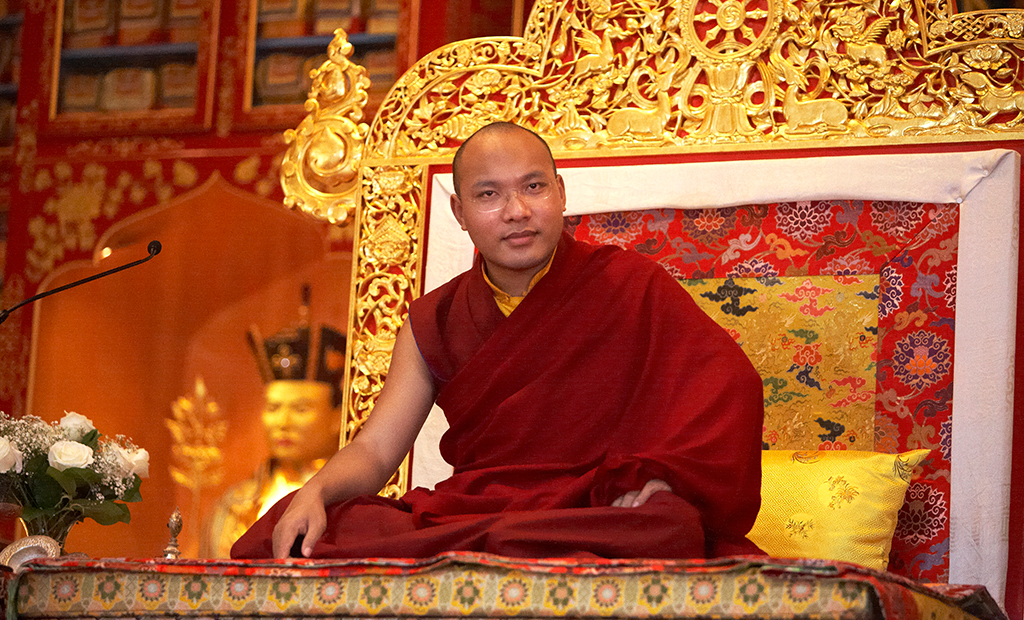 Gyalwang Karmapa Teaches at His North American Seat