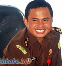 Kasi Pidana Umum (Pidum) Kejaksaan Negeri Raba Bima, Hasan Basri, SH MH. Foto: Bin