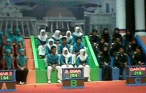 SMAN 1 Madapangga yang mewakili Provinsi NTB Juara I Lomba Cerdas Cermat Empat Pilar Kebangsaan