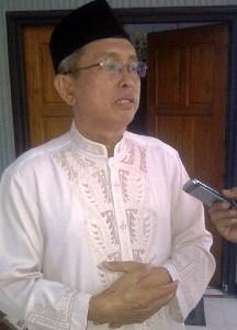Kepala Kementrian Agama (Kemenag) Kabupaten Bima, Drs. H. M. Saleh Karim. Foto: Gus