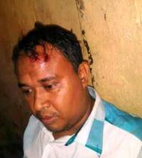 Khalid, pelaku yang membunuh anaknya sendiri.