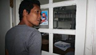 Ruangan Sub Perbendaharaan Gaji DPPKAD Kota Bima, tempat dua laptop tersebut dicuri. Foto: Bin