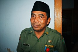Kepala DTKP Kota Bima, Ir. Hamdan. Foto: Bin